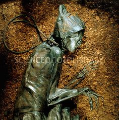 This is an example of a bog body like the one Sarah would have examined Found in the peat bogs of northern Europe the lack of oxygen in the water as well as natural tanni. Tollund Man, Mummified Body, Bog Body, Dark Thoughts, Interesting Reads, Kaiser, Prehistory, Ancient Artifacts, Skeletons