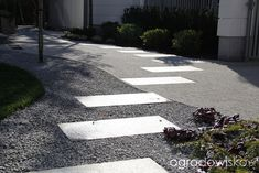 Ogród frontowy Sidewalk, Side Walkway, Walkway, Walkways, Pavement