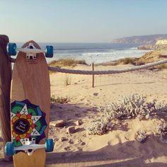 Guincho, Portugal  #skinii #skateboard #skate #enjoy #cruise #cascais #sintra #portugal