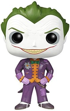 Batman Arkham Asylum The Joker Pop! Vinyl Figure from Funko! Perfect for any fan of the Batman comics! Figure stands 3 3/4 inches. Collect all of the Arkham Asylum POP figures from Funko!....