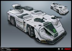 SYNDICATE concept - vehicle APC by *torvenius on deviantART