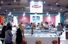 Fotos del stand diseñado y construido para Cuinats Jotri para la feria Fòrum Gastronòmic de Barcelona