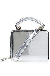 Metallic Boxy Bag