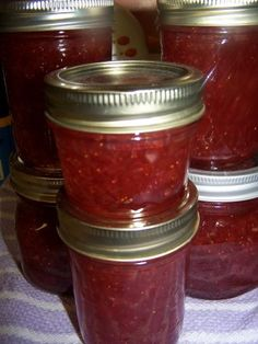 Strawberry-Rhubarb Jam | Farm Bell Recipes
