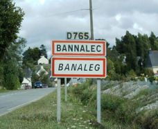 We stayed in this town, Bannalec, the first 10 days of our trip in France. I fell in love with Brittany! I Fall In Love, Falling In Love, 10 Days, Brittany, Places Ive Been, France, Signs, Shop Signs, Bretagne