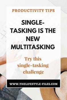 single-tasking