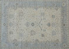 Beige Gray Pale Neutrals Rug 10x14 Oushak Natural Wool Hand Knotted Carpet #Harooni #TraditionalPersianOriental