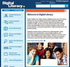 SLJ1308w Ref Online SLJ Reviews Rosens database Digital Literacy