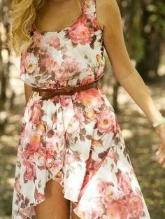 Beautiful floral dress ♡