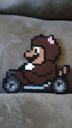 Mario kart 8 tanooki Mario perler