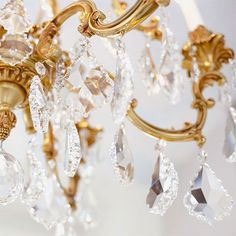 Crystal + gold