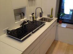 The Compact Kitchen of the Future: Who Needs A Built-in Stove? : TreeHugger...Induction Ovens