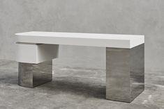 Joseph Dirand, architect based in Paris Joseph Dirand, Parisian Apartment, Dining Bench, Cabinet, Interior Design, Architecture, Table, Room, Furniture