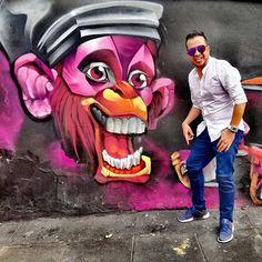 Que nada me haga perder él gozo.  . . . . . . . . #graffitiart #lifestyle #graffiti #art  #voyadisfrutarlavida #bogota #ilovebogota #instaphoto #instapicture #travel #bloggerstyle #blogger #photooftheday #picture Graffiti Art, Disney Characters, Fictional Characters, Joker, Instagram, The Joker, Fantasy Characters, Jokers, Comedians