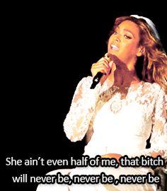 Beyoncé Resentment On The Run Tour 2014