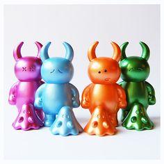 Dazed Uamou with Boo - Metallic Colors