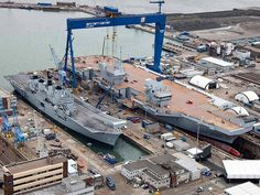 British Aircraft Carriers ..old and new