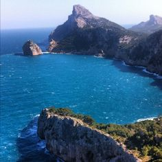 July: found this view, Cap Formentor Beautiful Places To Visit, Places To See, Mallorca Island, Ibiza, Balearic Islands, Costa, Spain And Portugal, Spain Travel, Vacation Spots