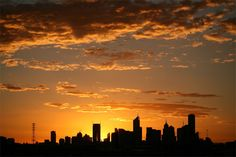 THIS PHOTOGRAPH OF MELBOURNE'S CBD against the glowing backdrop of sunrise was taken by Matt Wilson from Narre Warren, Victoria. Matt says the photograph was taken from a Go-Kart track in inner Melbourne.