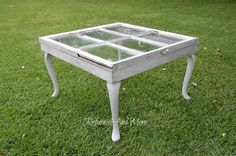 Repurposed Vintage Window Coffee Table by ReFurnish on Etsy, $175.00