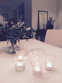 Nordic Home, Candle Holders, Chandelier, Ceiling Lights, Candles, Living Room, Home Decor, Candelabra, Decoration Home