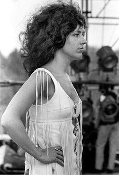 Grace Slick, Woodstock, 1969 Photo by Baron Wolman ☮️