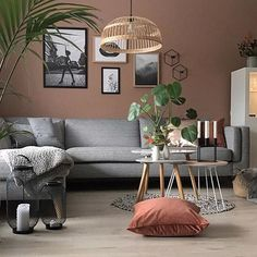 Bilderesultater for jotun pure color savanna sunset Living Room Color Schemes, Living Room Colors, Design Your Home, House Design, Interior Decorating, Interior Design, House Rooms, Living Room Interior, Wall Colors