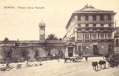 GENOVA - Il Palazzo Doria Pamphili - FOTO STORICHE CARTOLINE ANTICHE E RICORDI DELLA LIGURIA