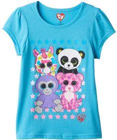 Girls 4 10 TY Beanie Boos Glamour Pajama Set Gabbys 8th Birthday Ty Beanie Boos Beanie