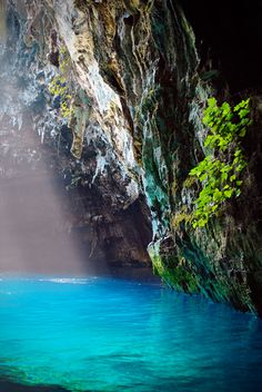 Melissani cave, Kefalonia.