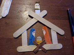 Crafty Orange: Craft Stick Nativity