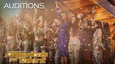 Zurcaroh: Golden Buzzer Worthy Aerial Dance Group Impresses Tyra Banks - America's Got Talent 2018 - YouTube