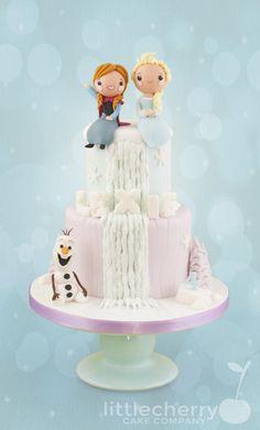 Frozen Waterfall - Cake by Little Cherry