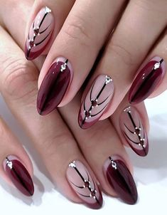 Greatest Style of Red Nails to Copy Now Acrylic Nail Designs Glitter, Nail Designs Bling, Bling Acrylic Nails, Nails Design With Rhinestones, Glitter Gel Nails, Red Nails, Fall Nails, Winter Nails, Coffin Nails