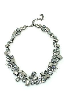 Eye Candy Los Angeles Grey Collar My Neck Necklace