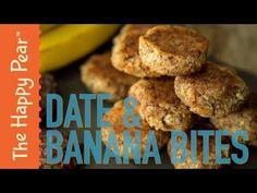 DATE & BANANA BITES | The Happy Pear