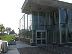 Cedarbrae Branch 2010 Entrance, looking East.