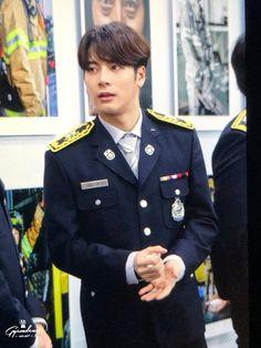 Jackson Wang_Korean Fire Department Ambassador appointment ceremony