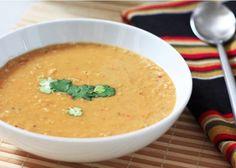 Lekkere linzen kikkererwten soep