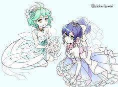 Rin and Serena