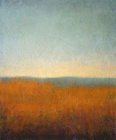 """Changing Skies 3"" by Jeannie Sellmer - Landscapes - Oil on panel"