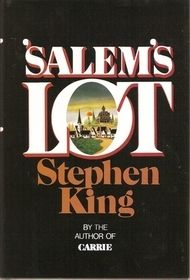 'Salem's Lot by Stephen King / 9780965772419 / Fiction - Horror, paranormal