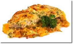 Bratkartoffelauflauf mit Schnitzel / Marions Kochbuch
