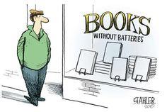 boeken... zonder batterij