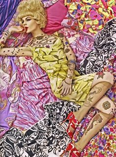 Mad mix. Ph Steven Meisel Vogue Italia/Dec 2007 -repinned by Orange County portrait studio http://LinneaLenkus.com #portraits