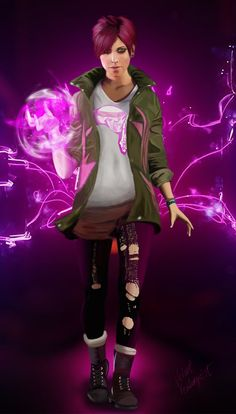 Infamous Second Son - Abigail Walker by VelvetVondergeist.deviantart.com on @deviantART