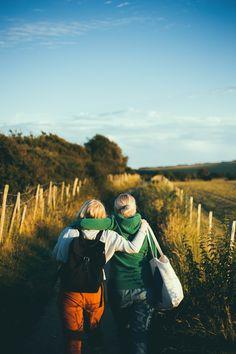 Friendship, walking, couple and friend HD photo by Joseph Pearson (@josephtpearson) on Unsplash
