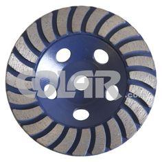 Rebolo Diamantado 115 mm - Gr 036 Para Granito - www.colar.com