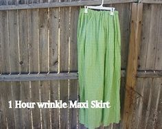 Tales of a Trophy Wife: 1 Hour Maxi Skirt Tutorial