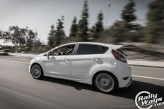 Ford Fiesta ST Rolling Shot from the RallyWays FiST review. #rollingshot #panning #fiestast